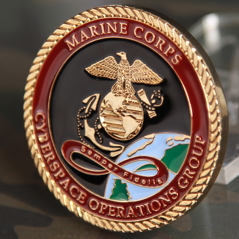 Marine Corps Challenge Coin