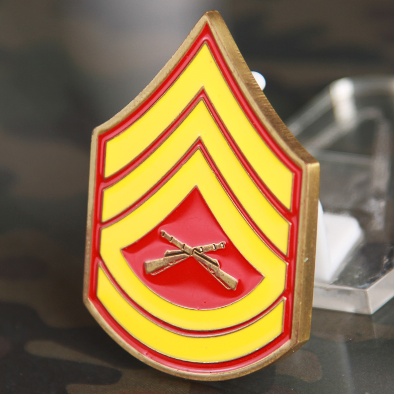 Enlisted Chevron Challenge Coin