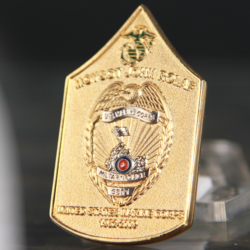 Military Police Challenge Coin
