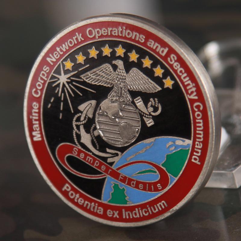 USMC MCNOSC Challenge Coin