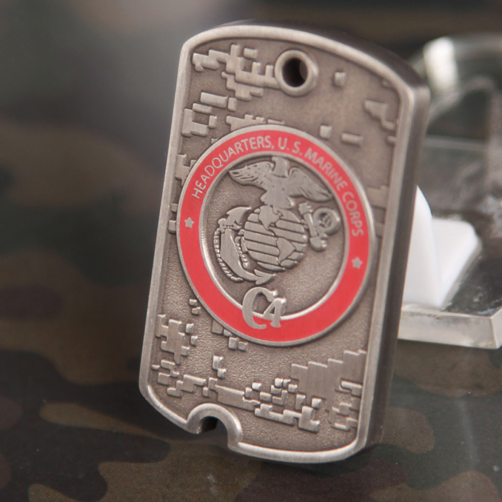 Director HQMC C4 Challenge Coin